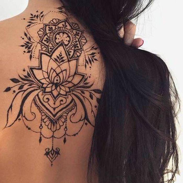 1001 ideas de tatuajes de henna temporal para mujeres Tattoo