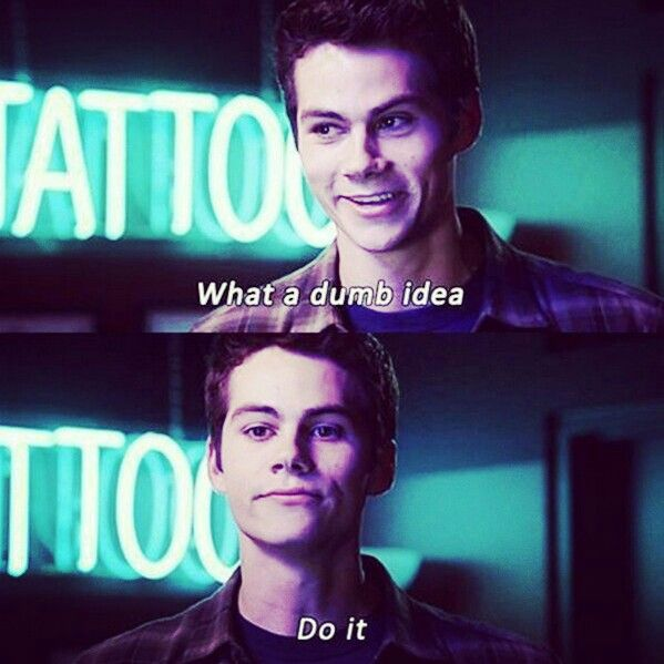 When your freinds find something dumb to do!! Haha