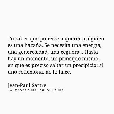 Sartre La Náusea Citas De Texto Cita Sobre Posters Y
