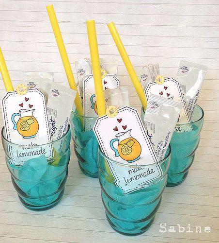 Teacher gifts- make lemonade :) by cute♥button, via Flickr