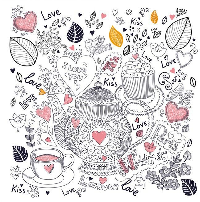 Alice In Wonderland An Inky Treasure Hunt And Coloring Book