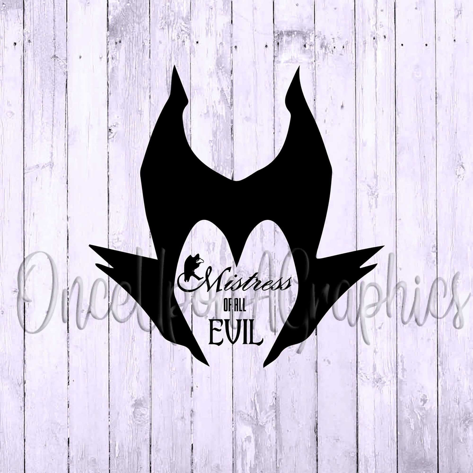 Mistress Of All Evil Svg Maleficent Svg Maleficent Clipart