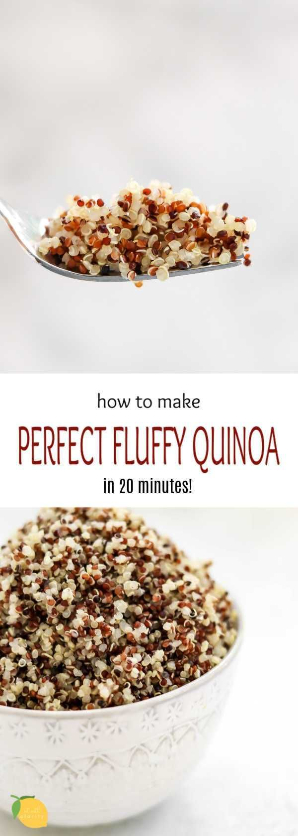 Photo of How To Cook Perfect Quinoa Plus 10 Quinoa Recipes
