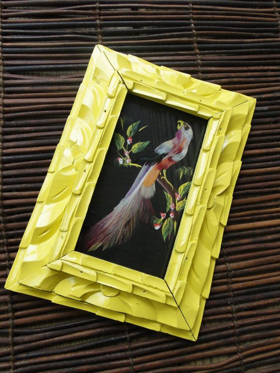 Carved frame with ugly bird   Wall art   Pinterest   Bird, Wall ...