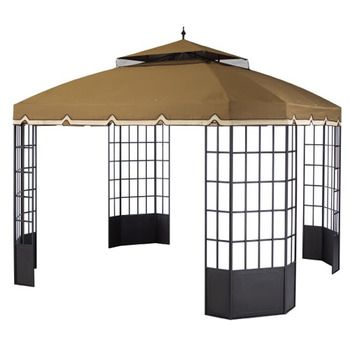 Sunjoydirect Com Sunjoy Ctc Cambridge Gazebo Replacement Canopy Fabric Gazebo Replacement Canopy Replacement Canopy Gazebo