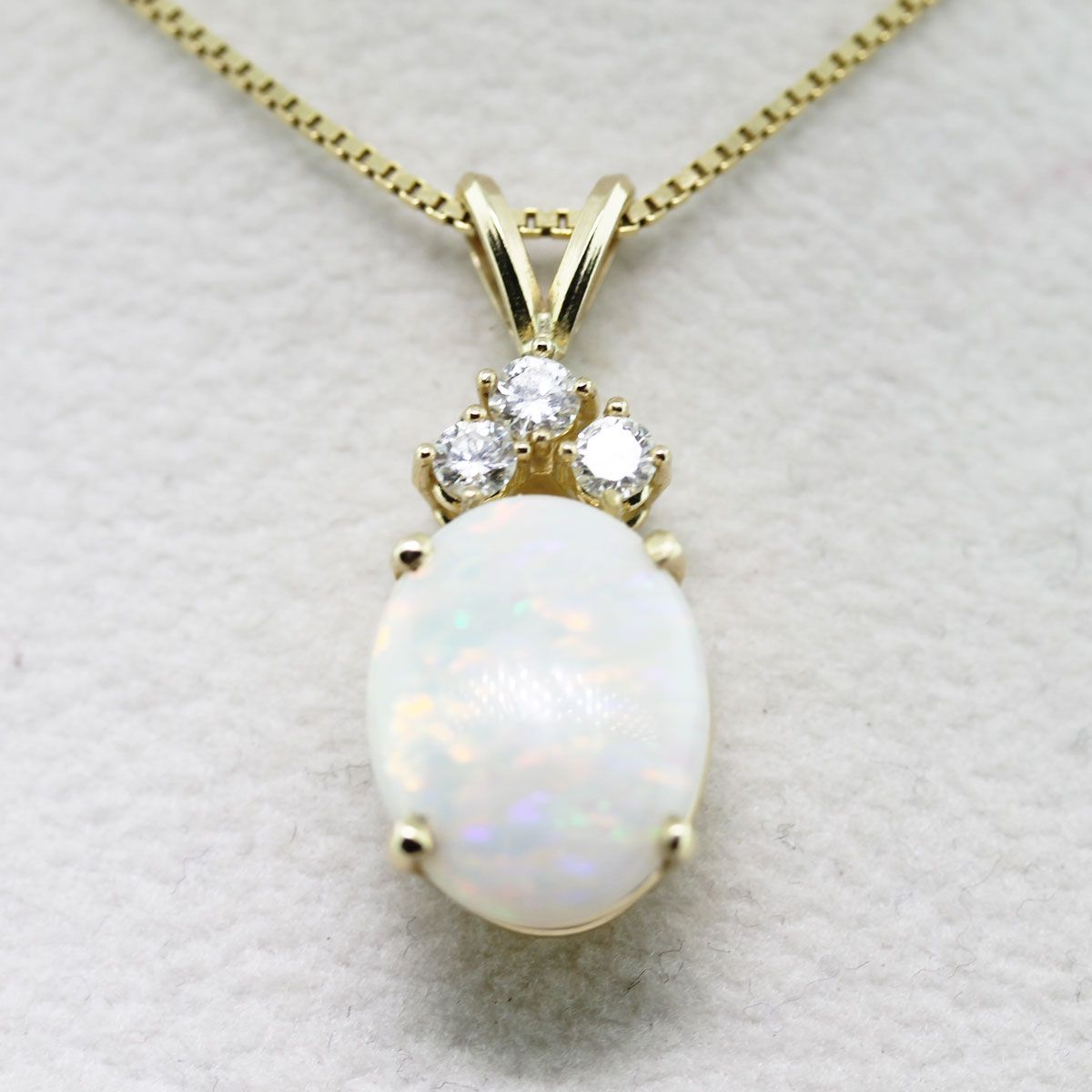 pendant gold clogau white item opal serenade jewellery