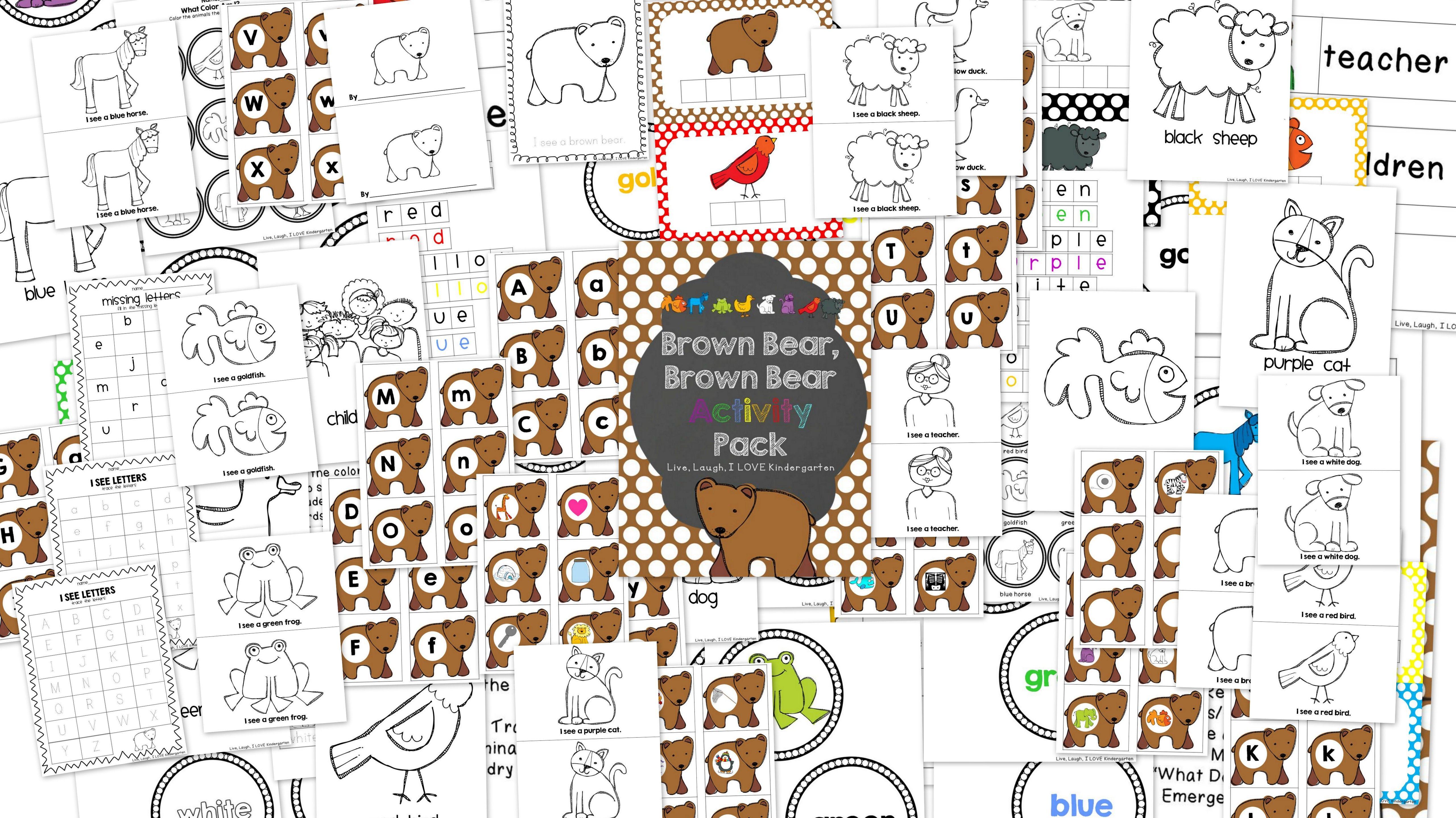 Brown Bear Brown Bear Activity Pack