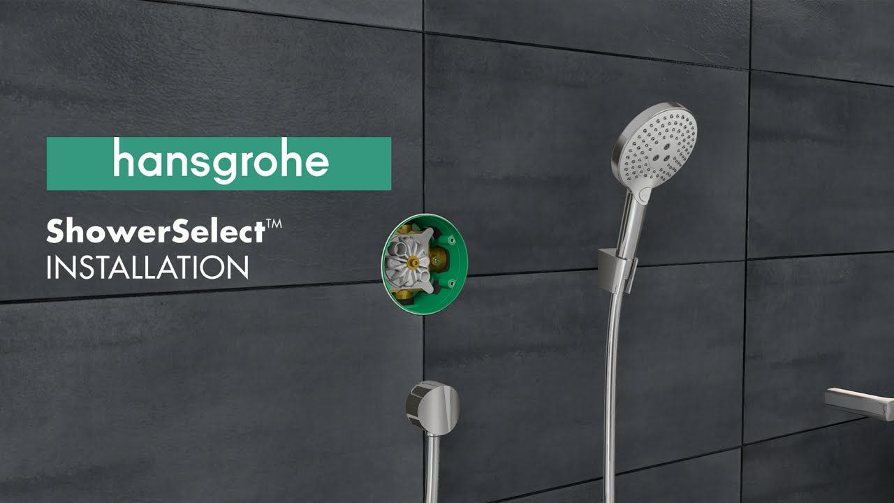 Hansgrohe ShowerSelect Installation (US version) | Hansgrohe Service ...