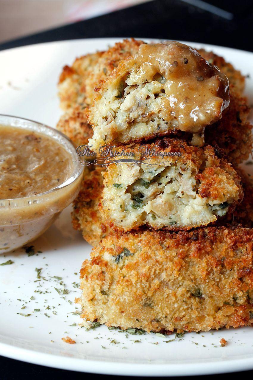 Crispy Baked Chicken Croquettes Recipe Leftovers Recipes Chicken Croquettes Croquettes Recipe