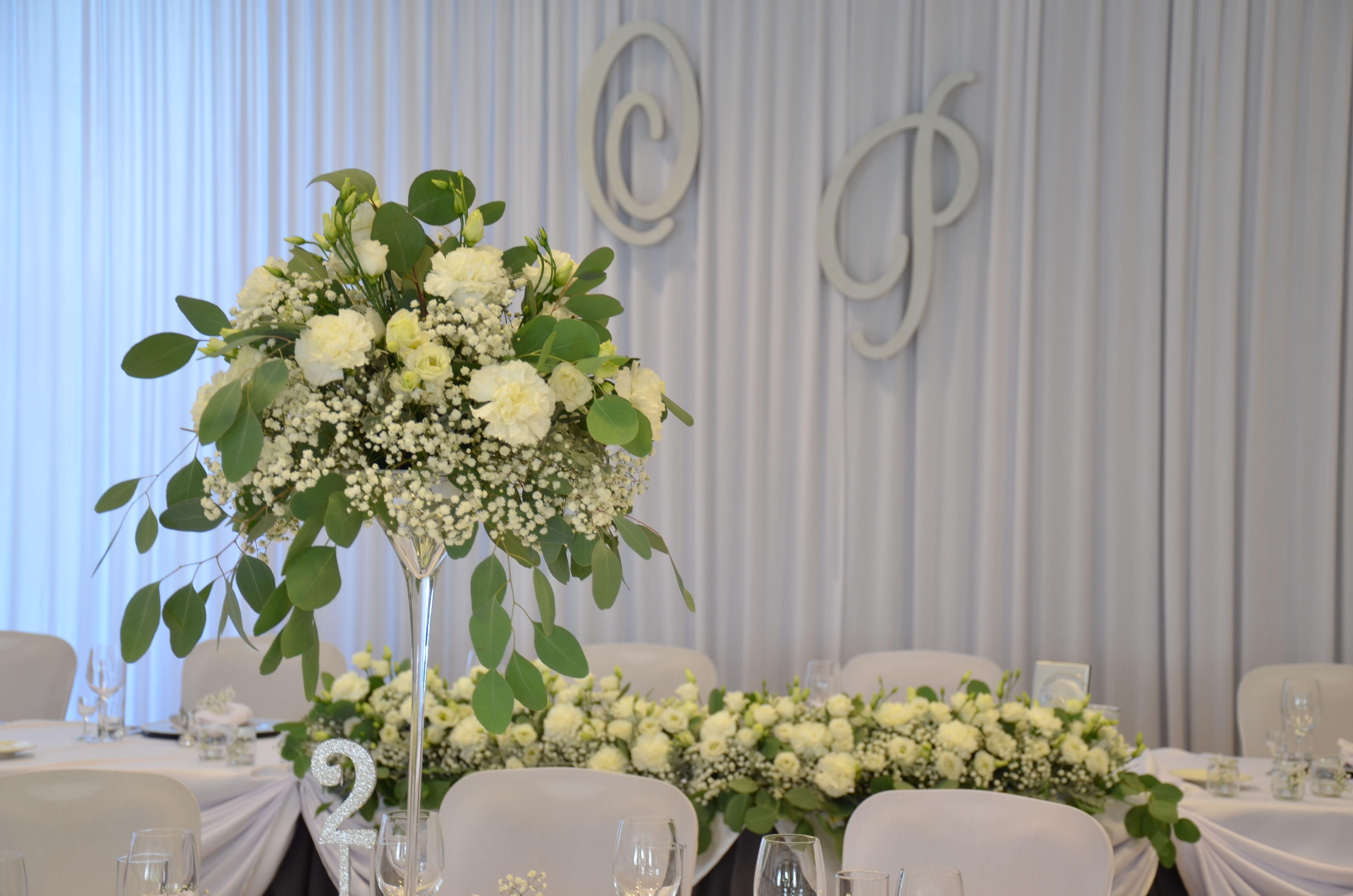 Dekoracja Sali Weselnej Gipsowka Martinowki Table Decoration