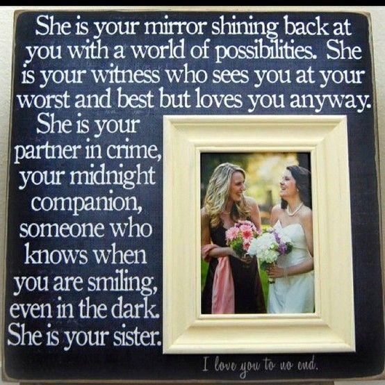 Sisters . . .