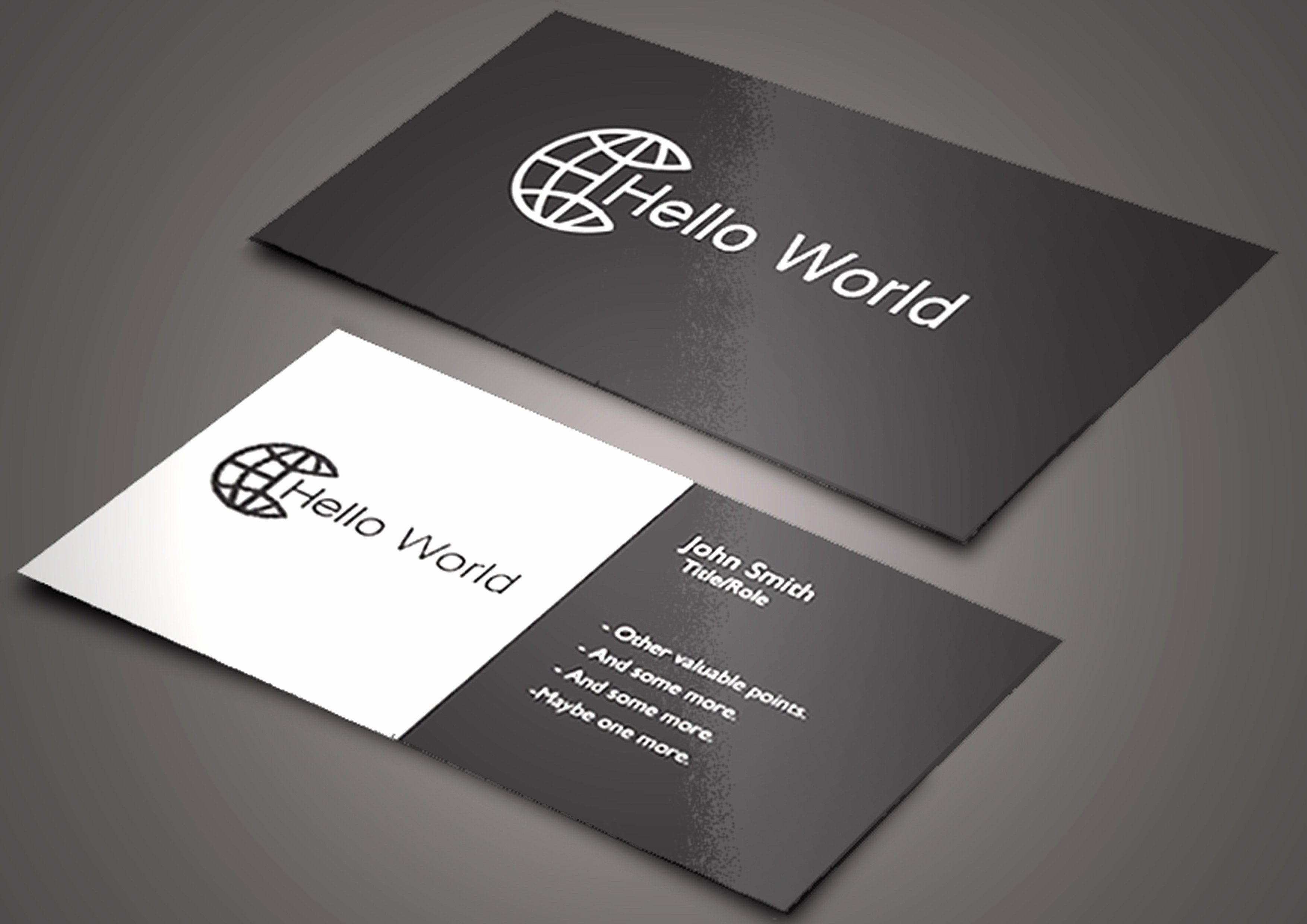Rounded Business Card Template Inspirational Business Card Rounded Corners Templat Free Business Card Templates Clean Business Card Design Round Business Cards