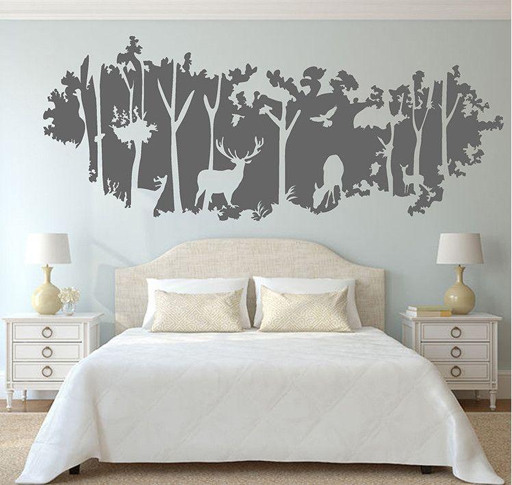 Deer Nursery Wall Decals. Tapeten SchlafzimmerTapeten IdeenWandmalereienJagdNeue  ...