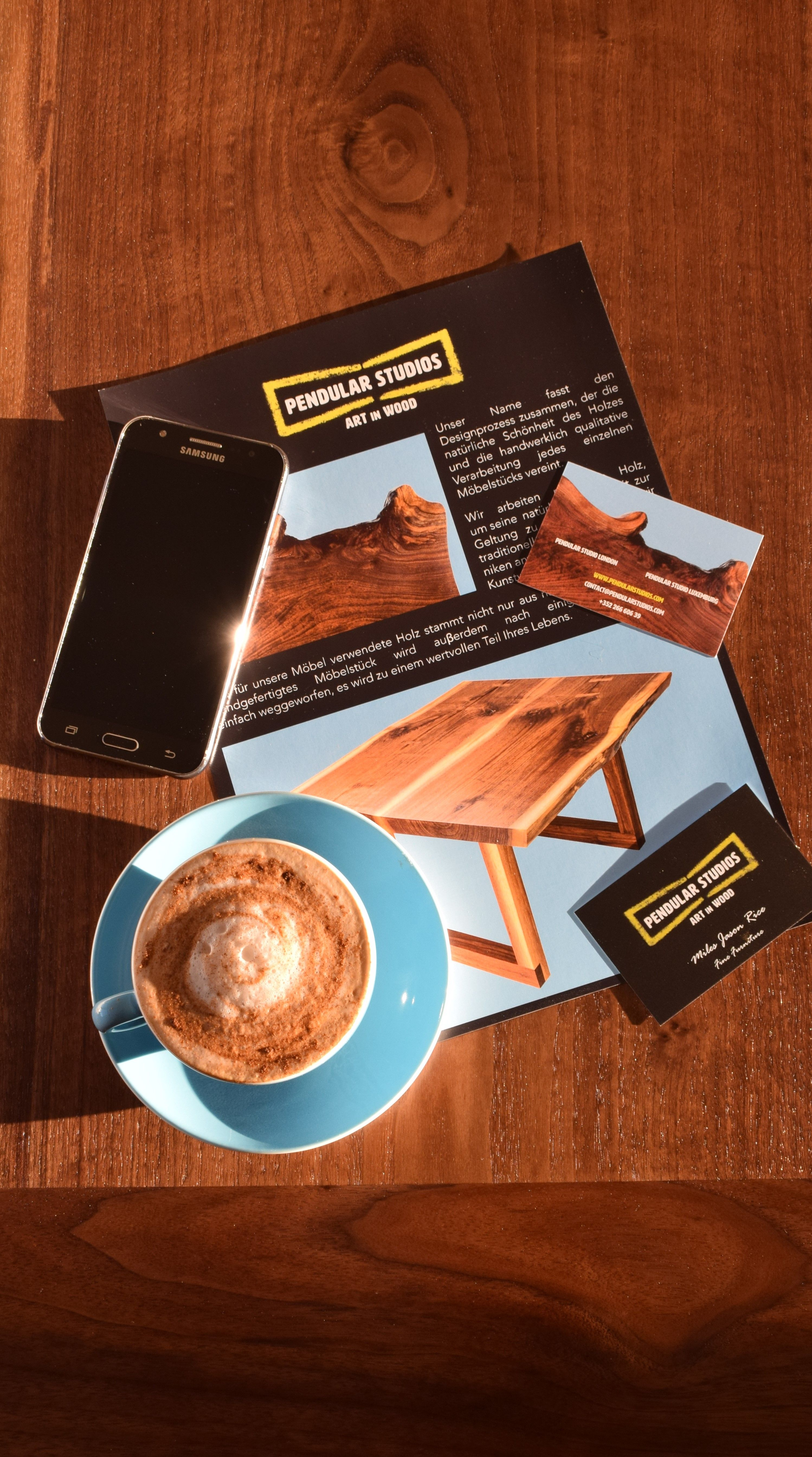 New Marketing Materials Just Arrived Having A Coffee Break On Our