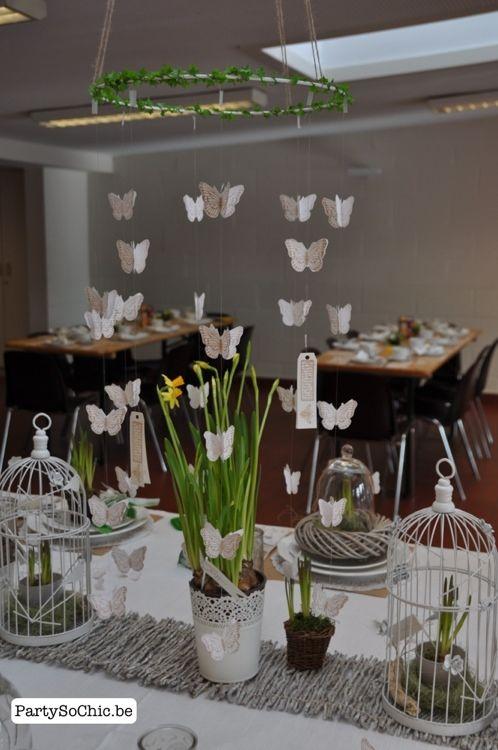 Table De Fête #papillon