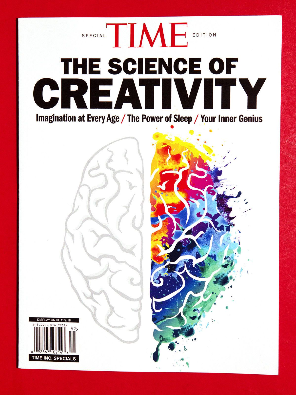 time special edition 2018 science of creativity