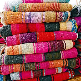 Mantas en telar de cintura lana de oveja 100 a mano per - Mantas de lana hechas a mano ...