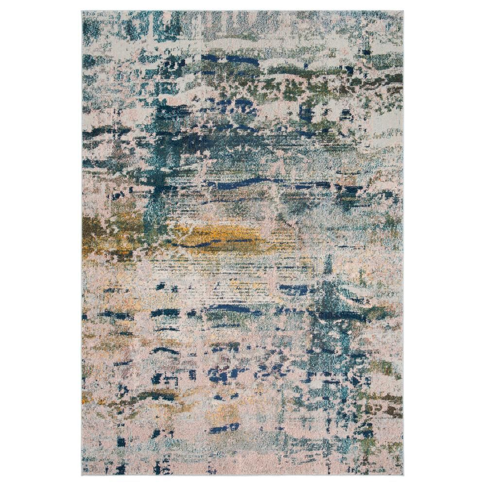 Safavieh Monaco Blue Gray 5 Ft 1 In X 7 Ft 7 In Area Rug Area Rugs Rugs Hand Tufted Rugs