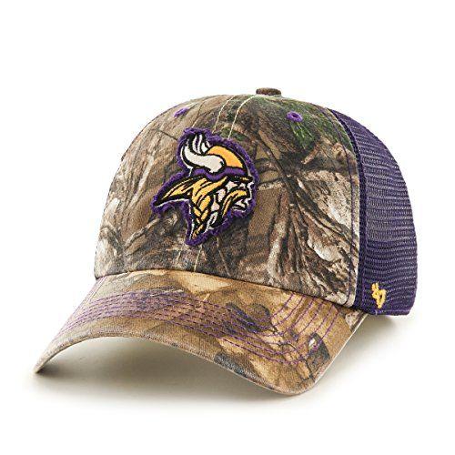 76faa4438 Vikings Camo Hats | Cool Minnesota Vikings Fan Gear | Hats, Camo ...
