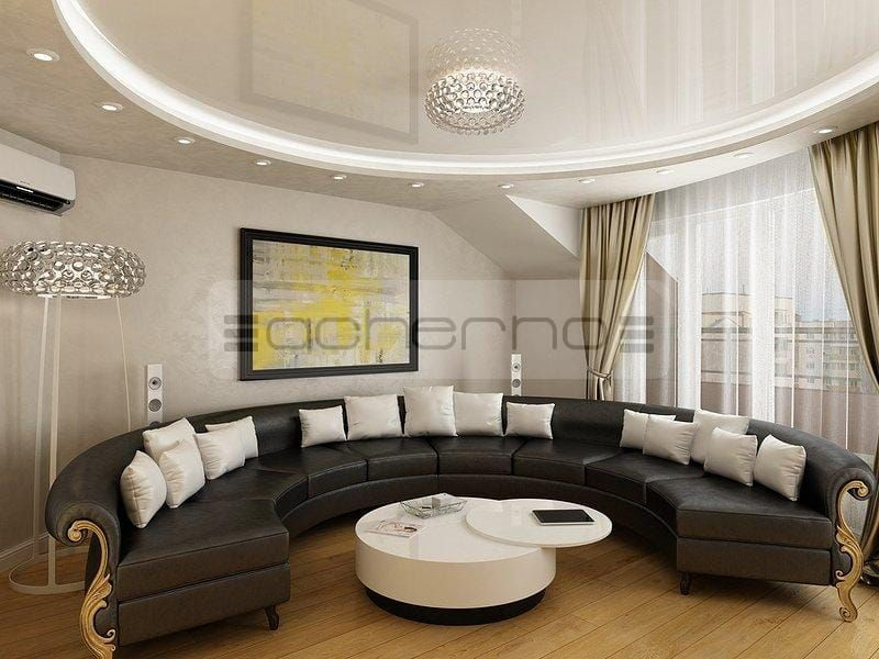 Gardinen-wohnzimmer-modern-die-Vorhänge-des-Zimmers-sind-nett-und - wohnzimmer modern barock