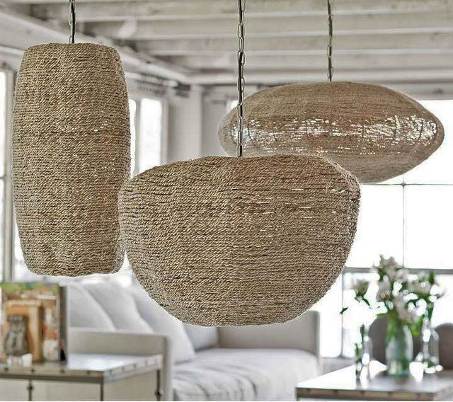 Seagrass pendant lampshades seagrass lamps pinterest seagrass pendant lampshades aloadofball Choice Image