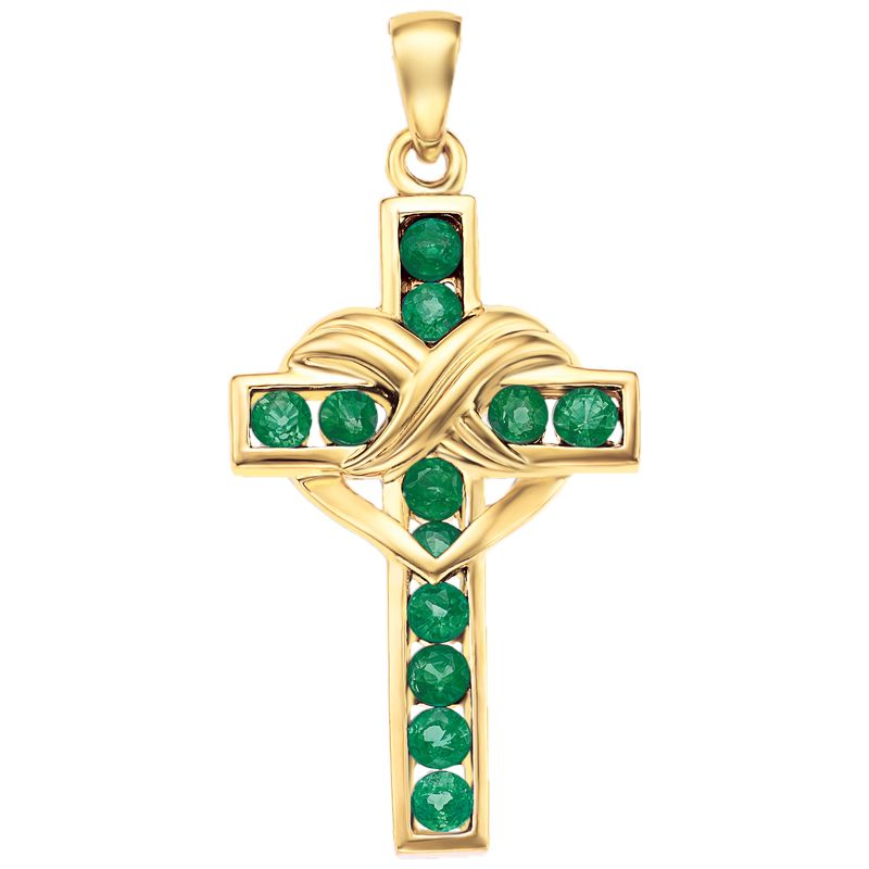Jewelry & Watches The Cardinal Crystal Heart Necklace Pendant From Danbury Mint Jade White