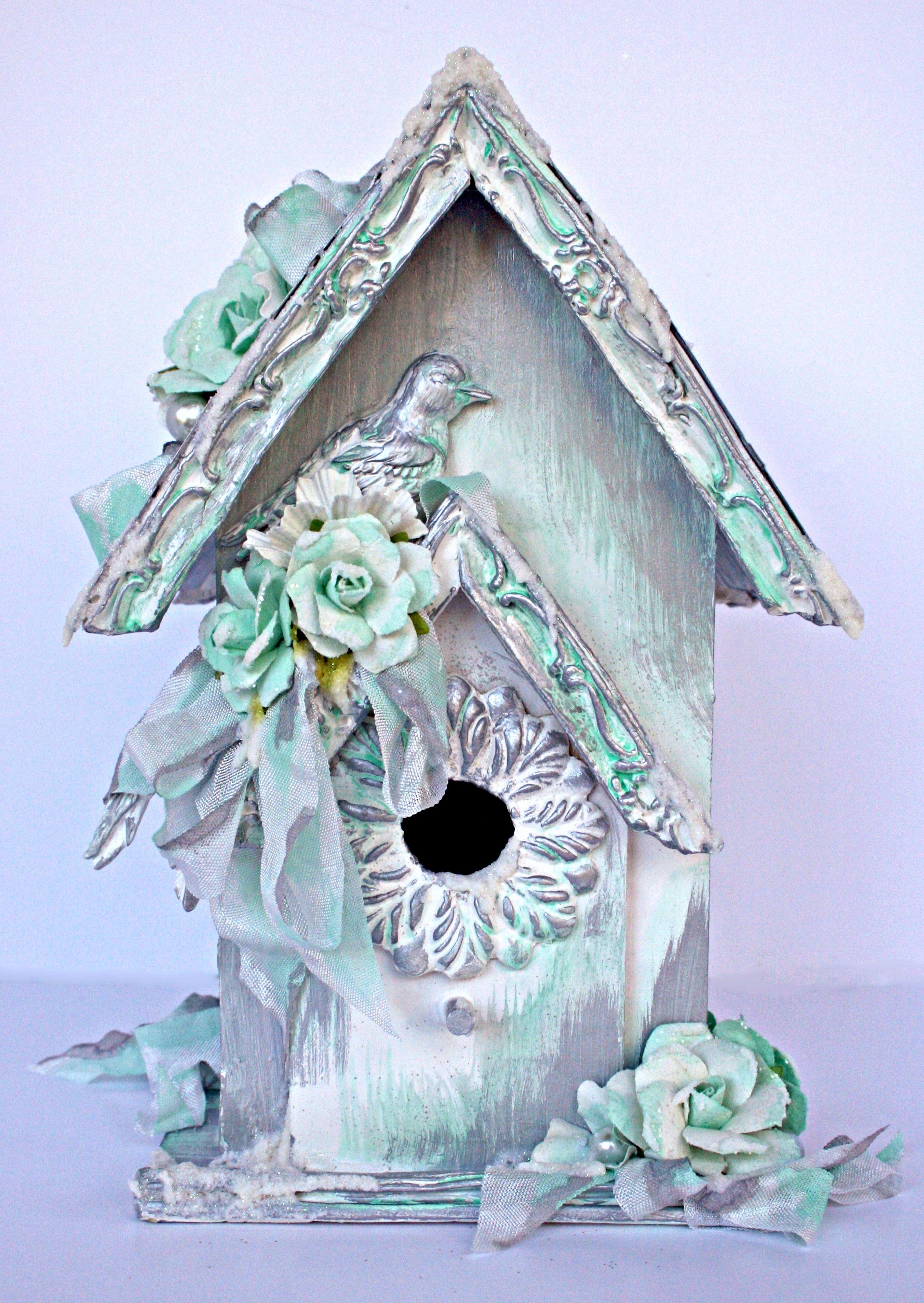 birdhouse  prima moulds scrapbookcom prima