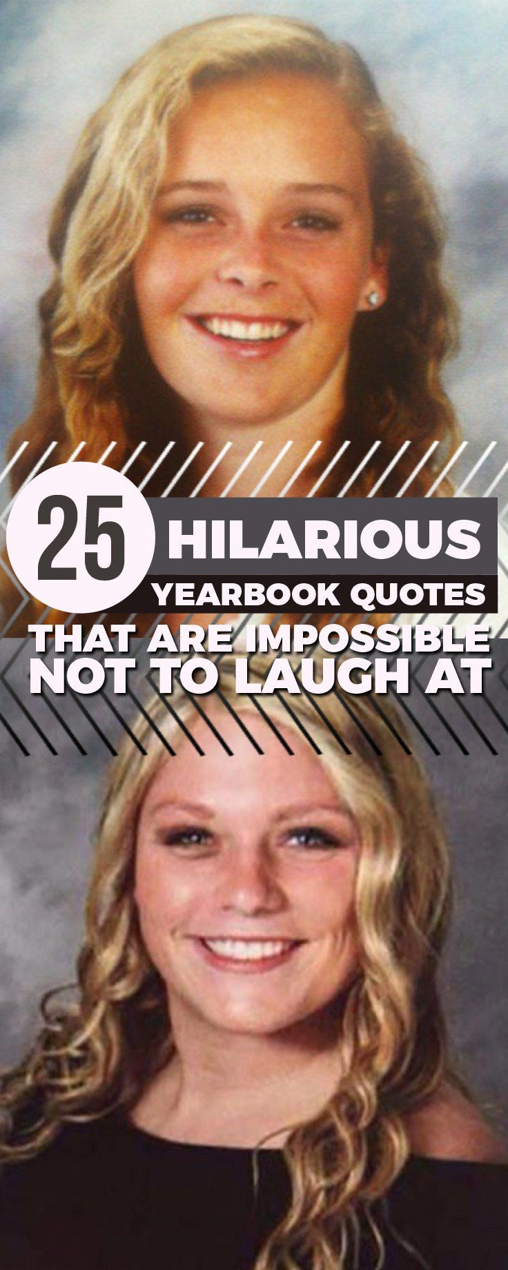 25 Hilarious Yearbook Quotes That Are Impossible Not To Laugh At Yearbook Quotes