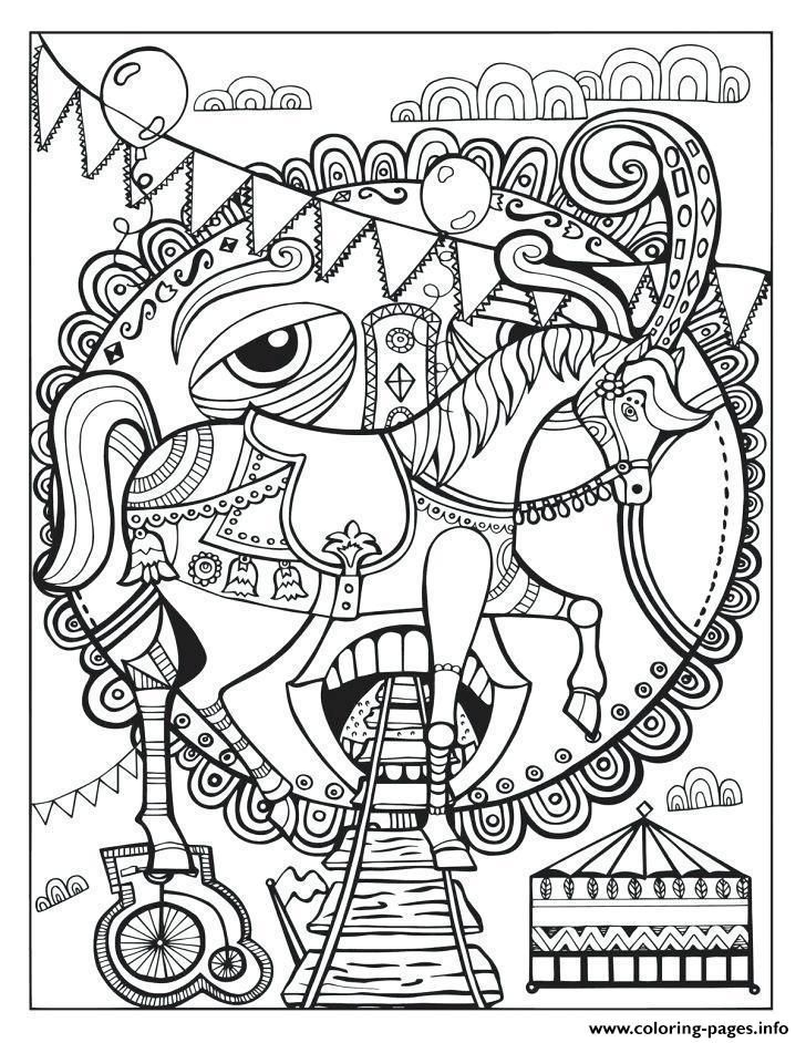 Greatest Showman Circle Coloring Pages Printable In 2020 Horse Coloring Pages Cute Coloring Pages Coloring Pages
