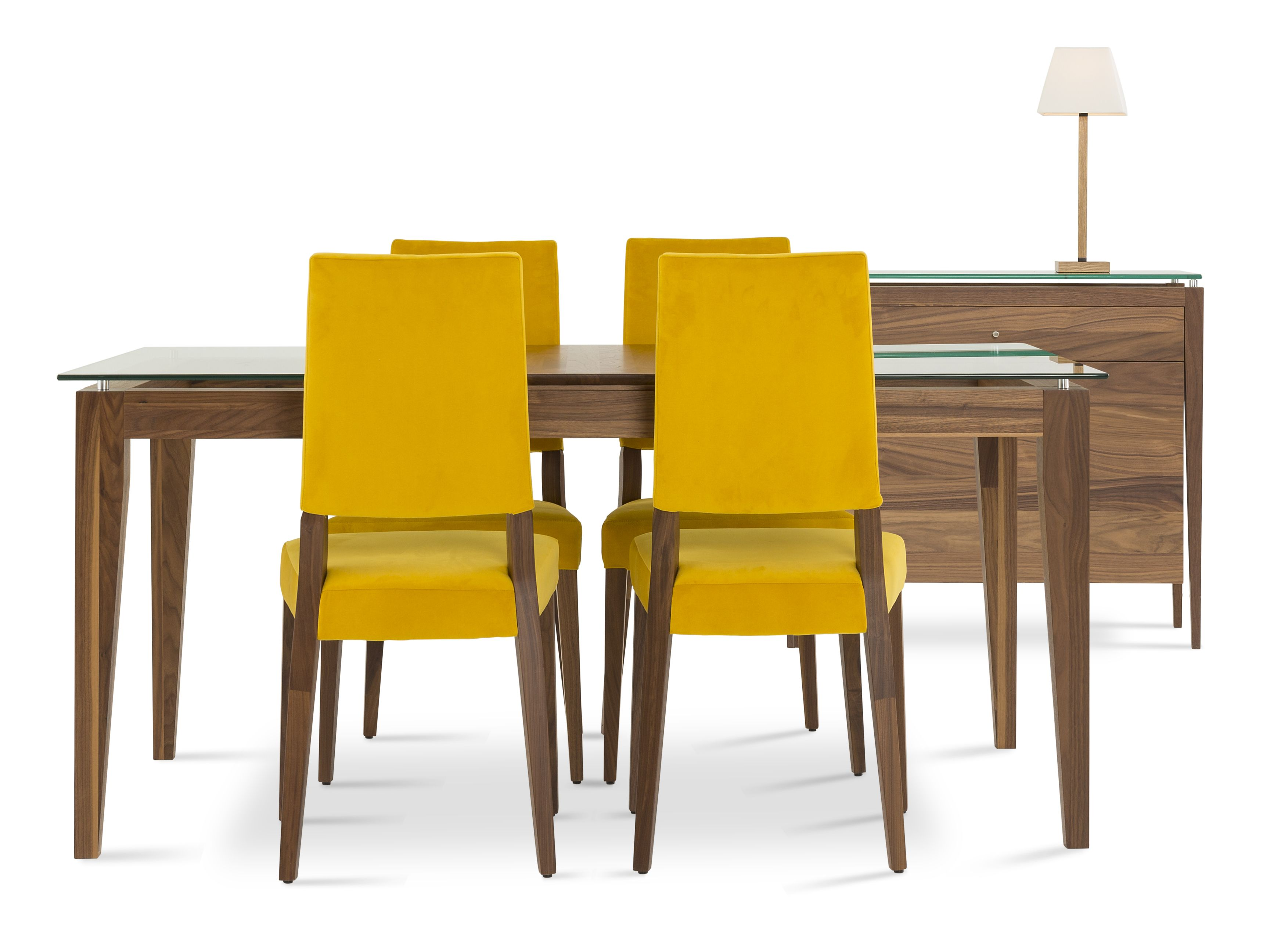 Mobilier Quebecois Disponible En Bois De Merisier Et De Noyer 27 Couleurs Offertes Www Verbois Com Dining Room Furniture Furniture Dinette