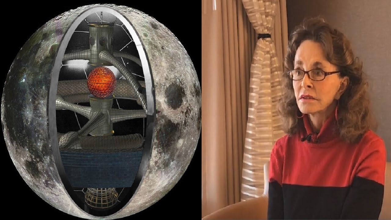 Linda Moulton Howe The Moon is an Intelligent Machine That