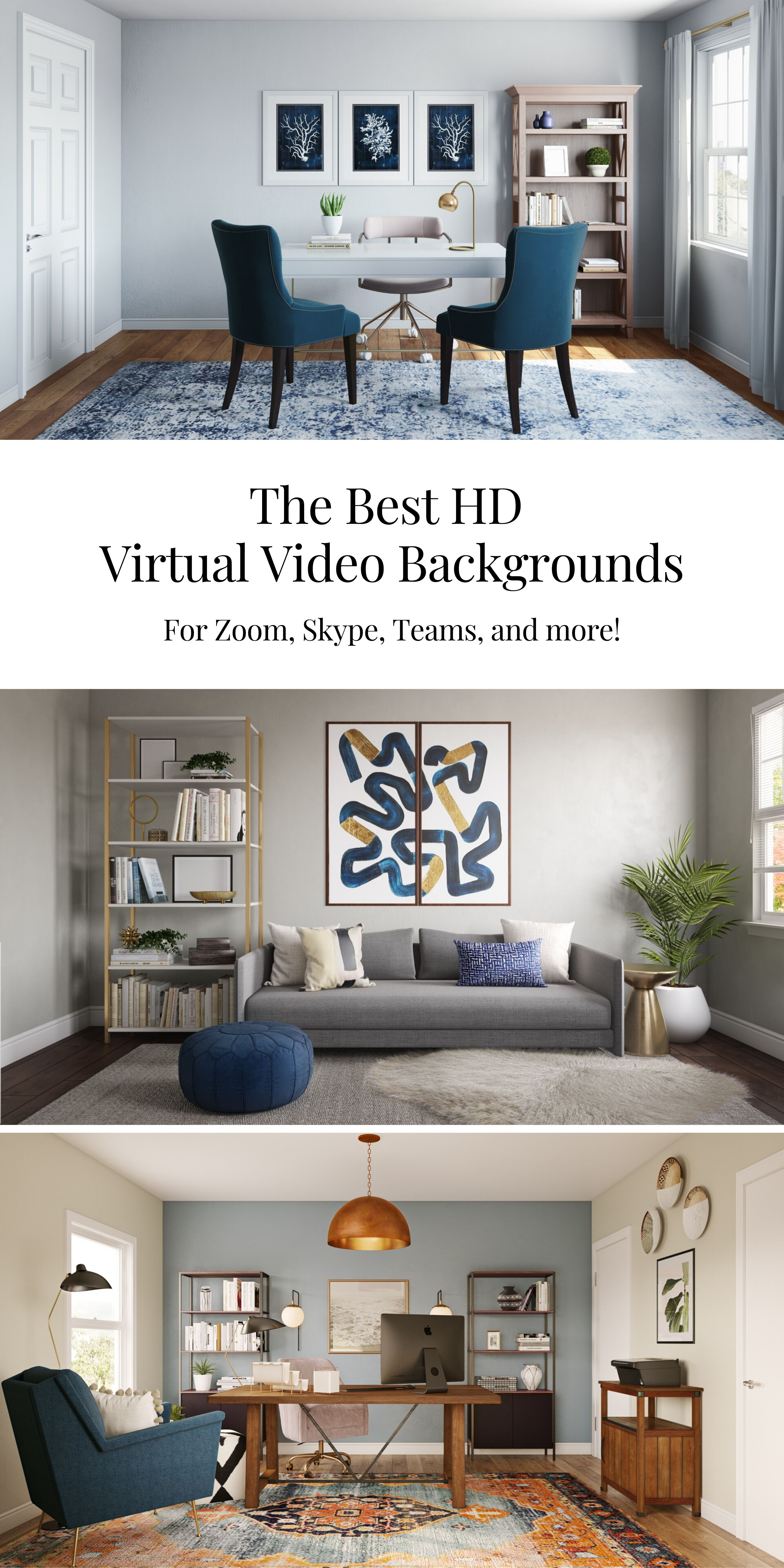 Virtual Backgrounds Zoom Backgrounds Teams Backgrounds Video Backgrounds Zoom Virtual Games Blue Living Room Decor Blue Living Room Therapist Office Decor