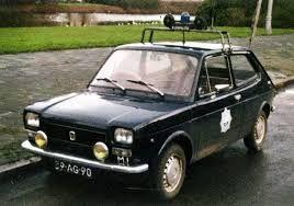 Fiat 127 Rijkspolitie Politie Klassieke Auto S Ambulance