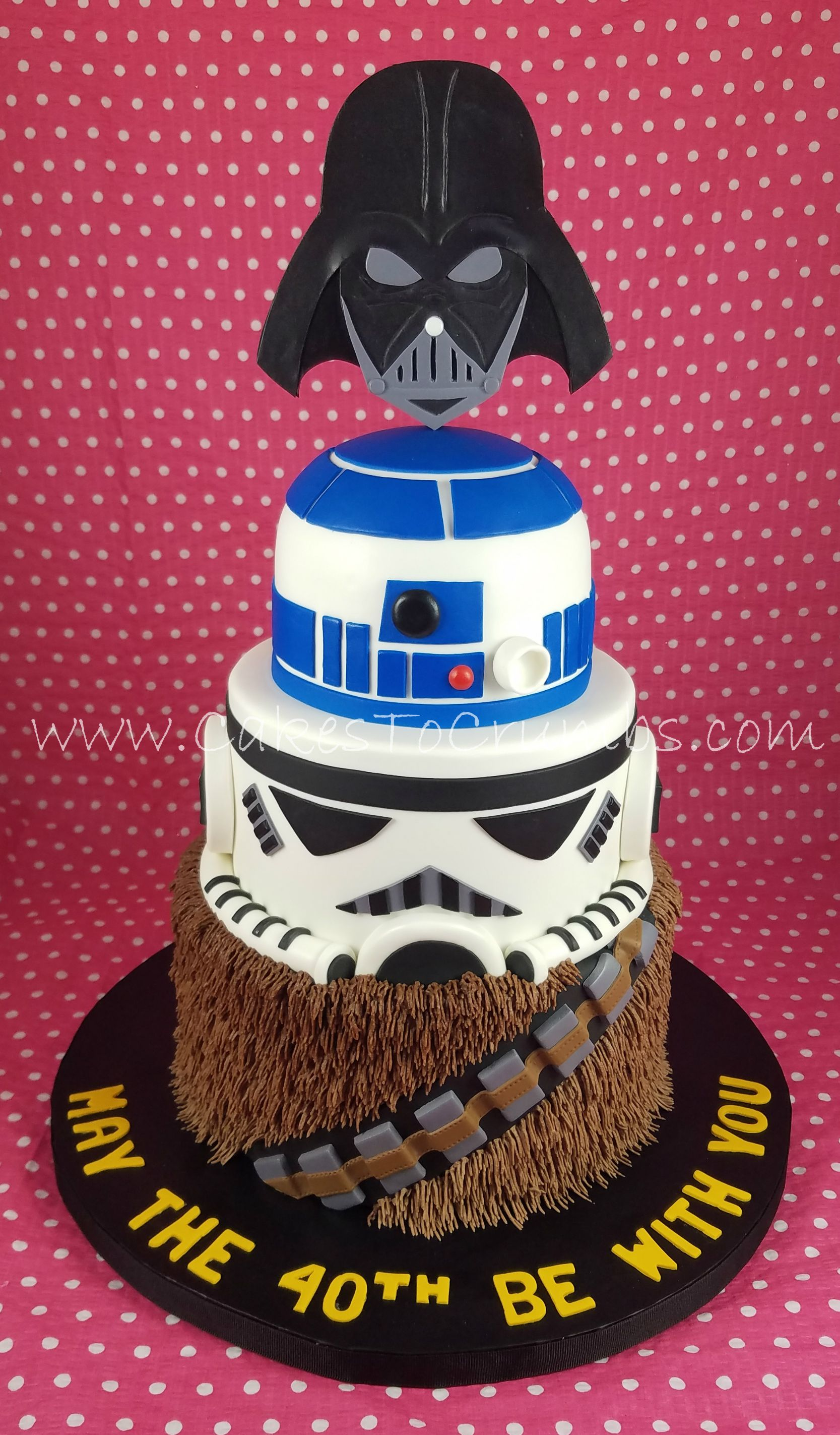 Star Wars 40th Birthday Cake Cake 40th Birthday Cakes