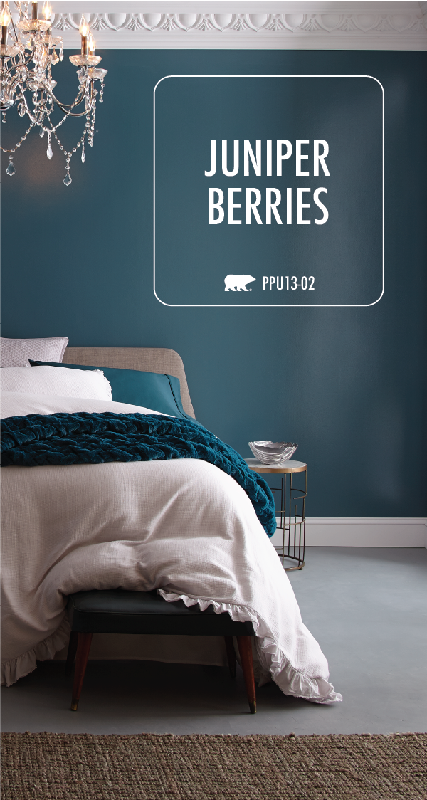Give Your Master Bedroom A Dark And Moody Style With Behr Premium Plus Ultra Interior Hi Gloss Bedroom Paint Colors Master Bedrooms Decor Paint Colors For Home