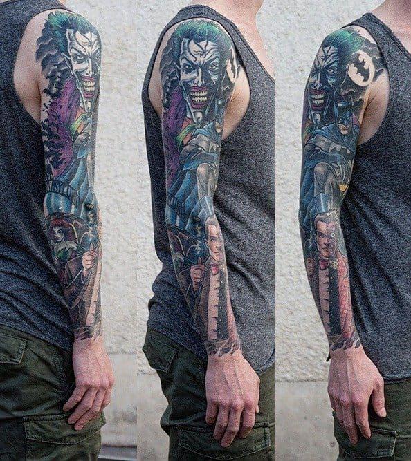 35 Really Freaky Joker Tattoo Design Ideas Tattoos