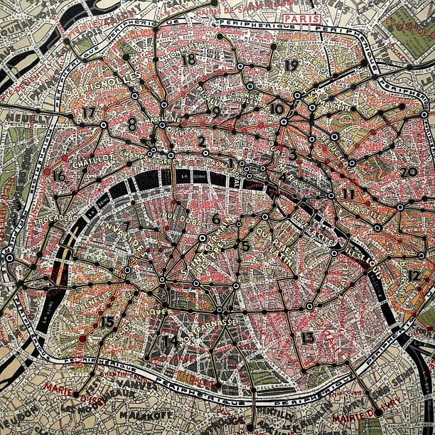 Paris, by Paula Scher