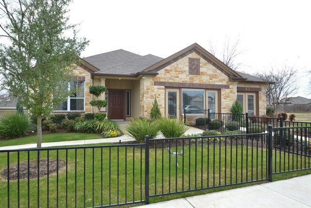 Pacesetter Homes In The Bunton Creek Subdivision Kyle TX