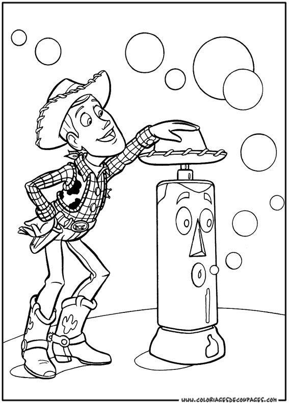 Coloriage Toy Story à colorier - Dessin à imprimer   om te kleuren ...