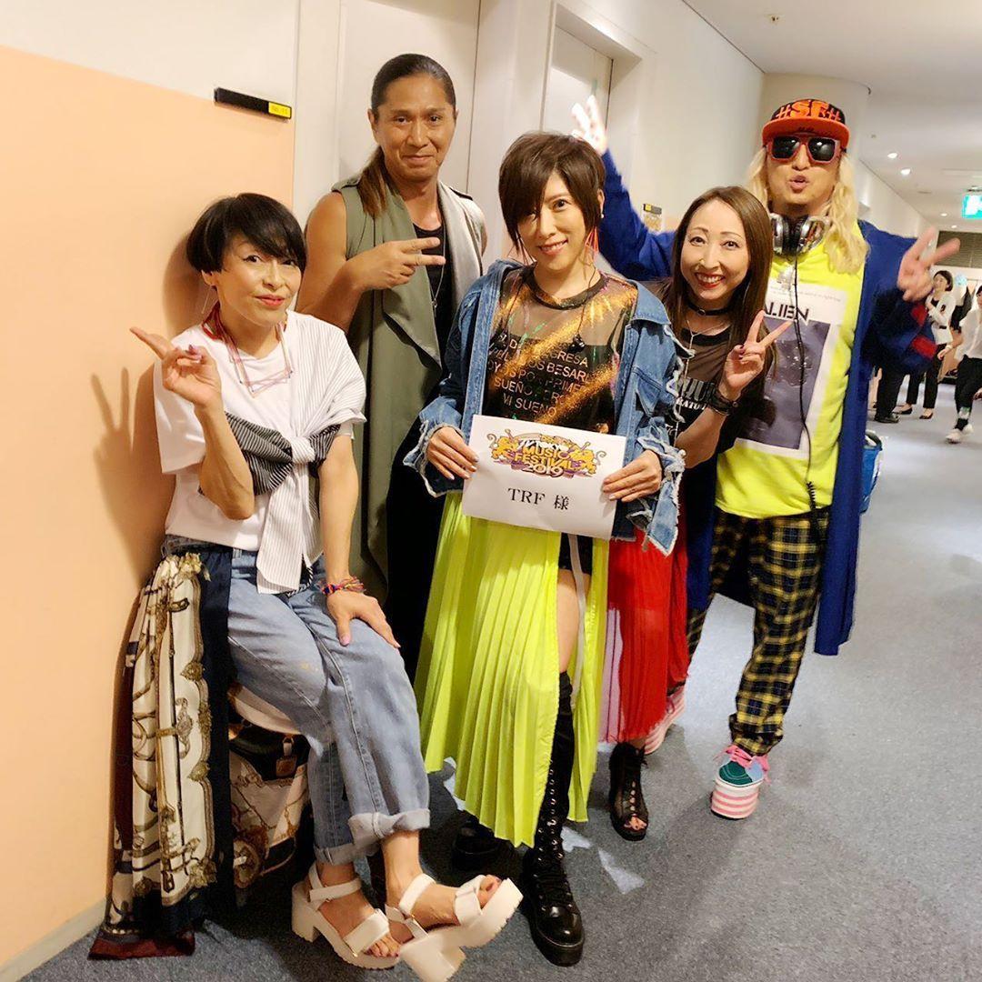 Chiharuさんはinstagramを利用しています テレ東音楽祭 今年も出演させていただきました スタッフの皆さま 出演者の皆さま おつかれさまでした ありがとうございました そして テレ東55周年おめでとうございます Samさんがちょいちょい面白い