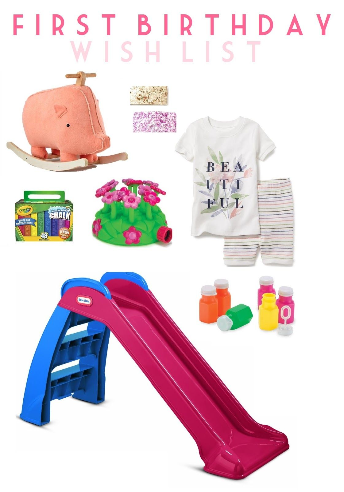 First birthday gift ideas life as a noel blog first