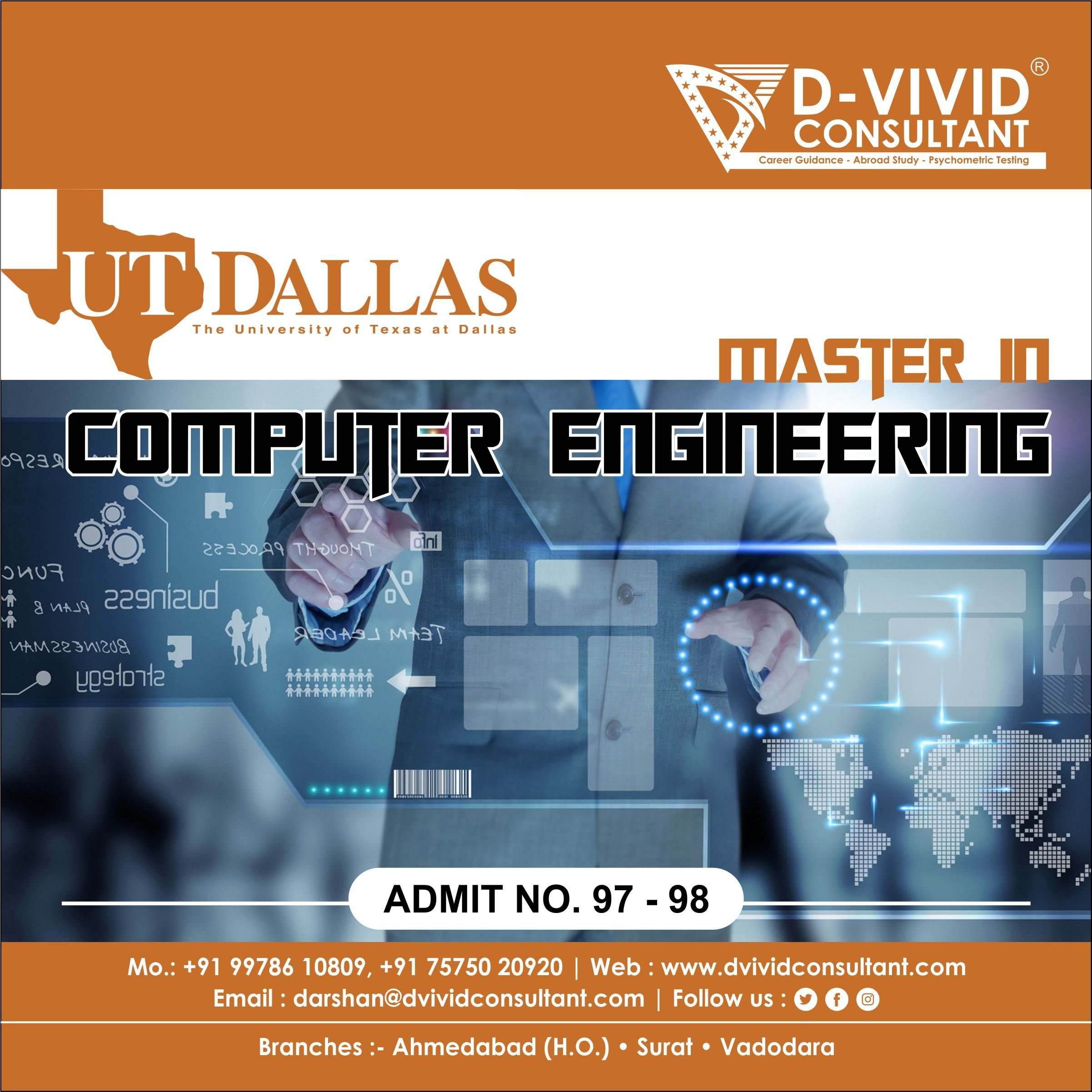 Admit Number 97 98 The University Of Texas At Dallas Computer Engineering Engineering