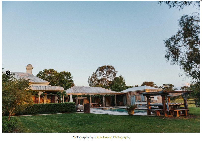 Hunter valley wedding venues nsw health