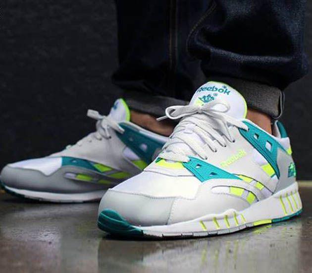 bd584cef2100 Reebok Sole-Trainer OG - Porcelain / Seagull - Teal Gem | Sneakers | Reebok,  Adidas originals i Adidas