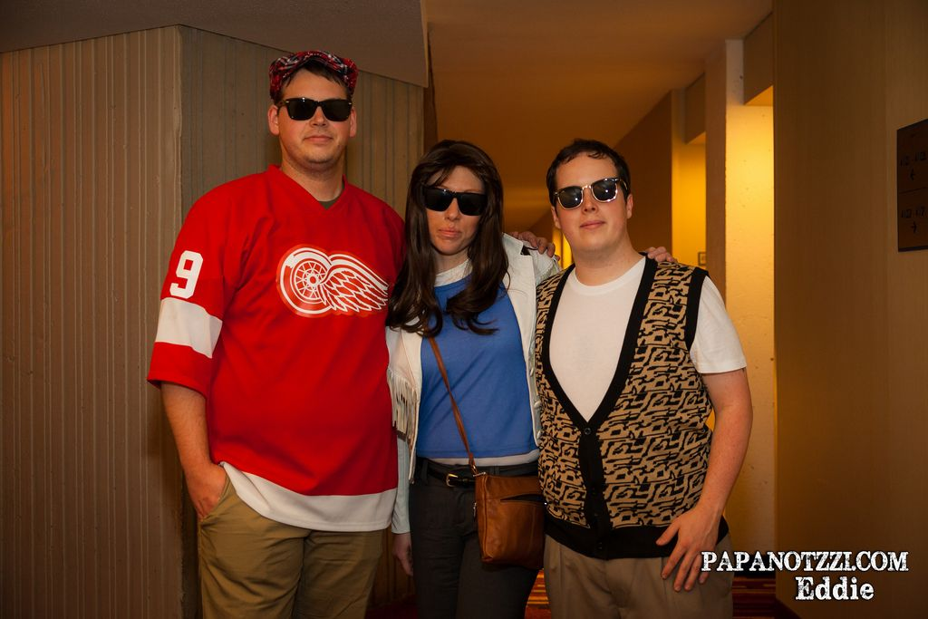 426288363 Sloane Peterson, Cameron Frye, and Ferris Bueller - Ferris Bueller's Day Off  | DragonCon 2013