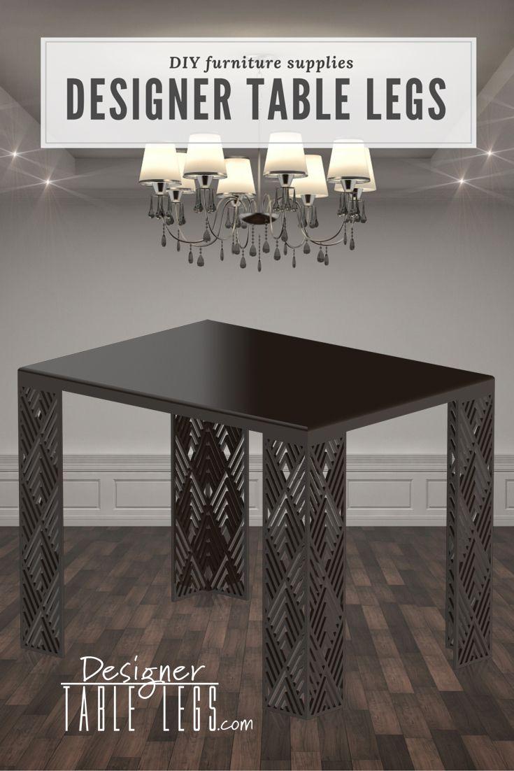 Luxor Diamond Black Table Legs Diy Furniture Www