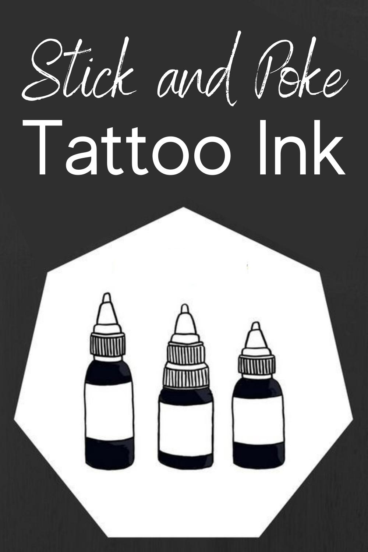 Photo of Stick and Poke Tattoo Ink