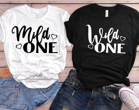 Mild one Wild One Shirts  Best Friend Shirts Wild One   Etsy