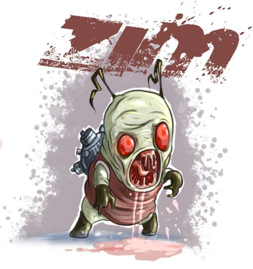 by Jhonen Vasquez | monstruos | Pinterest | Invader zim ...