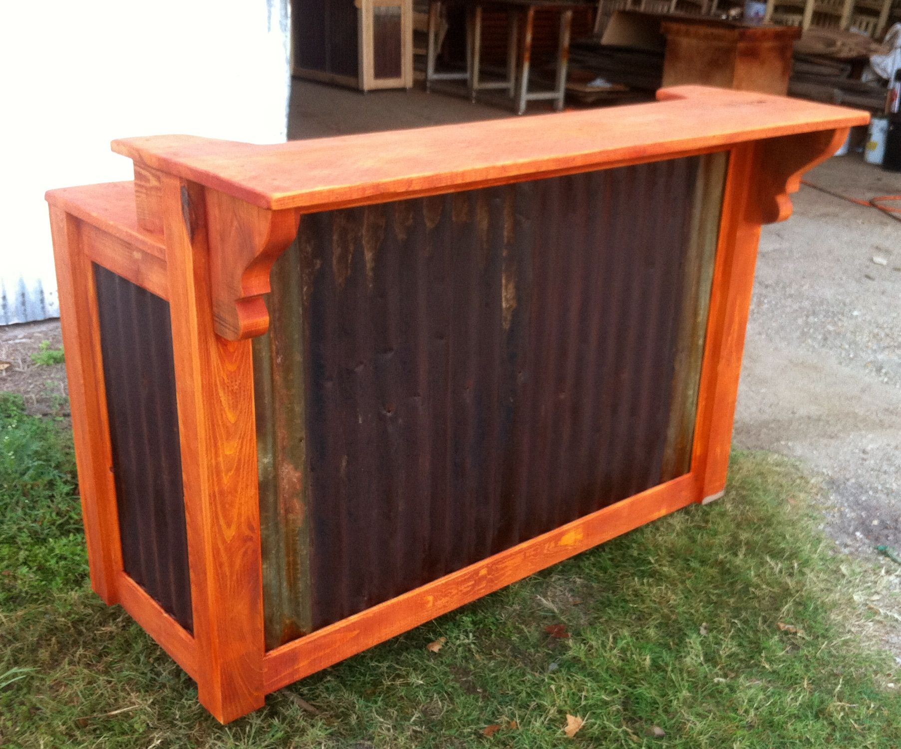home patio bar. Patio Bars For Home | Cypress \u0026 Barnwood Bars. Available Finished Or Unfinished. Bar T